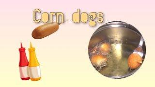CORNDOG recipe! ** very delicious **