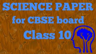 Solutions of Science paper (Chemistry portion) CBSE board by SS
