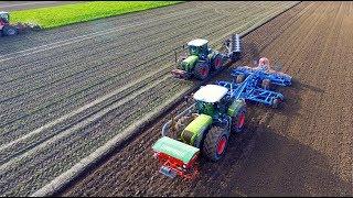 Ploughing, Drilling & Sugar Beet | Claas Xerion + Lemken 9 furrow & Karat 9 | Beet Eater | NIVU2004