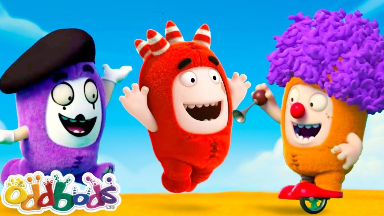 CÉU AZUL DE VERÃO | Oddbods | NOVO | Desenhos Animados Engraçados Para Crianças