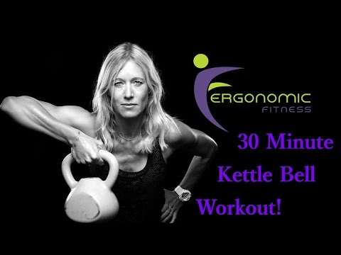KETTLE BELL WORKOUT - 30 MINUTE (CORE + STRENGTH)