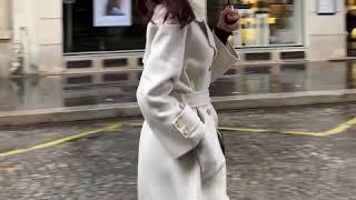 [나는마리]마론트 견장 핸드메이드 코트 아이보리