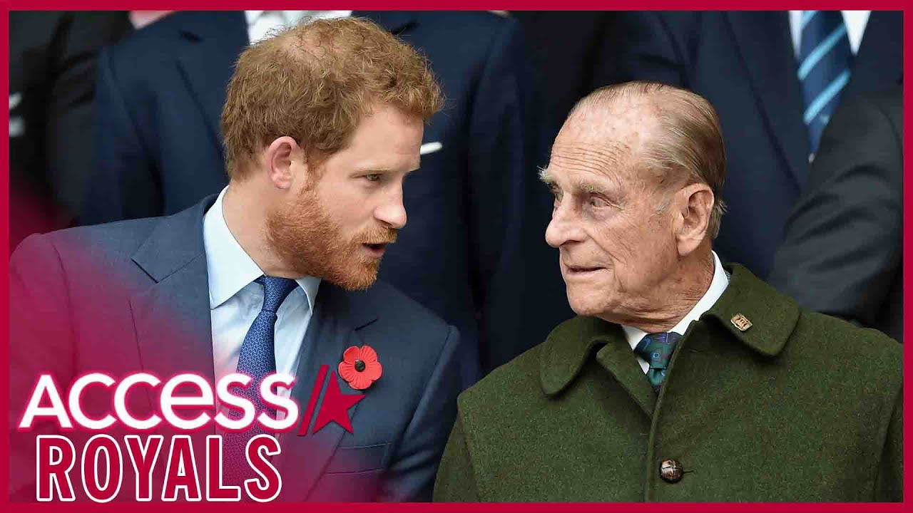 Prince Harry May Have To Sit Alone at Prince Philip's Funeral