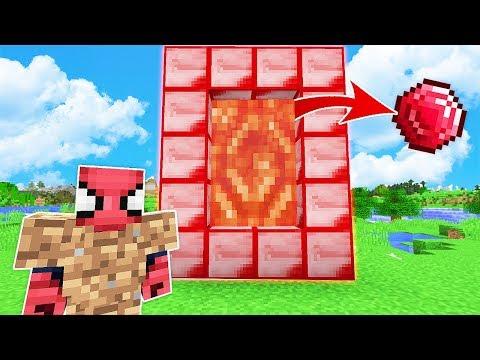 FAKİR RUBY PORTALI BULDU (TEKRAR ZENGİN OLDU) 😱 - Minecraft