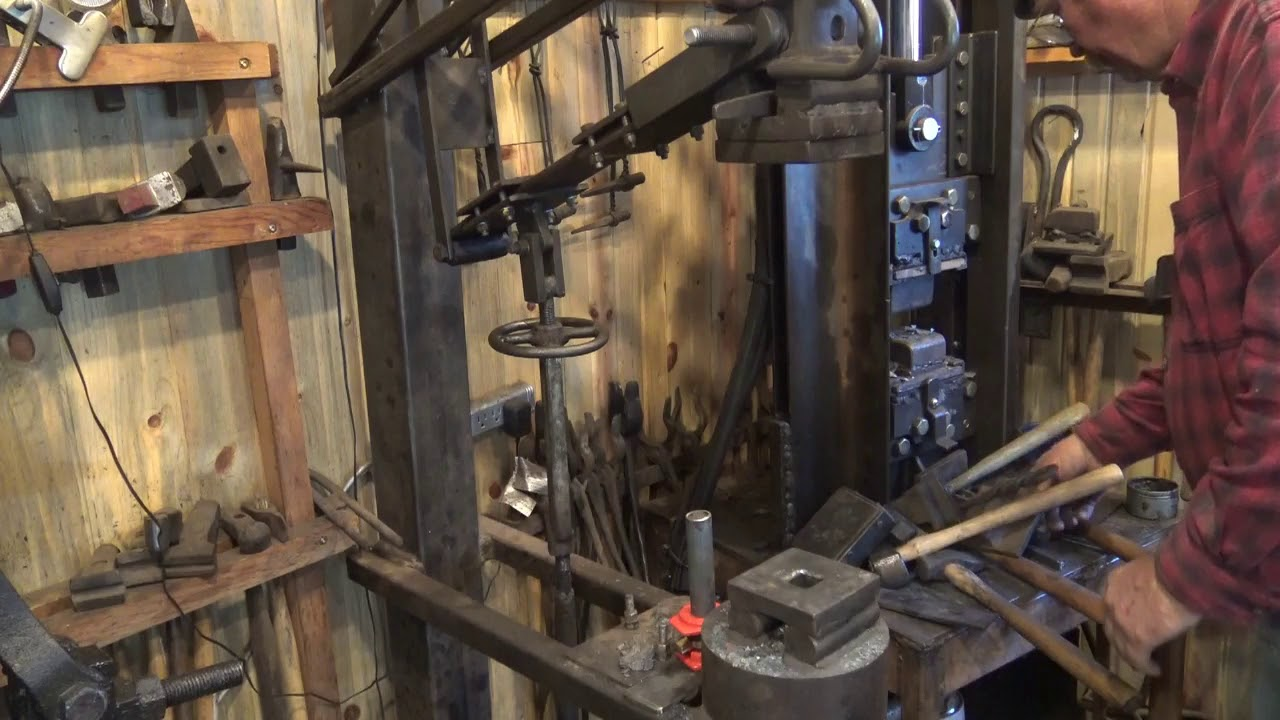 Introduction to the treadle hammer for blacksmithing