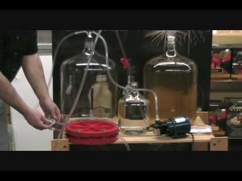 Noble Grape Wine Filter Demo Part 2 Youtube