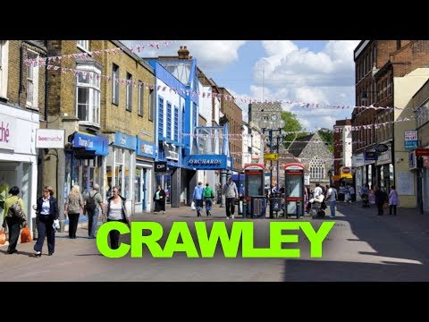 Places To Live In The UK - Crawley , West Sussex RH10 ENGLAND ( Close To  Gatwick Airport )