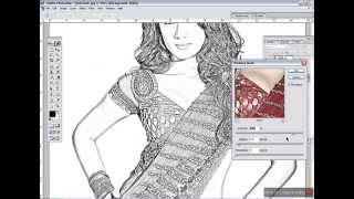 How to Convert image into line drawing with Photoshop