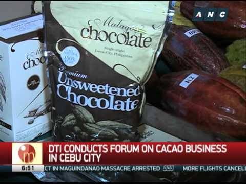 DTI conducts forum on cacao business