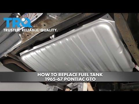 How to Replace Fuel Tank 1965-67 Pontiac GTO