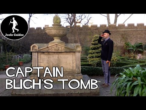 Captain Bligh's Tomb