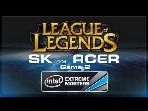 LoL Gamescom - SK Gaming vs Acer Game 2 - European Regionals
