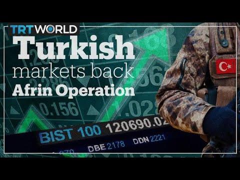 Turkish financial markets perform well amid Afrin operation