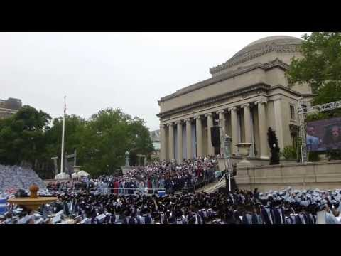 Stand, Columbia - Columbia University Commencement 2013
