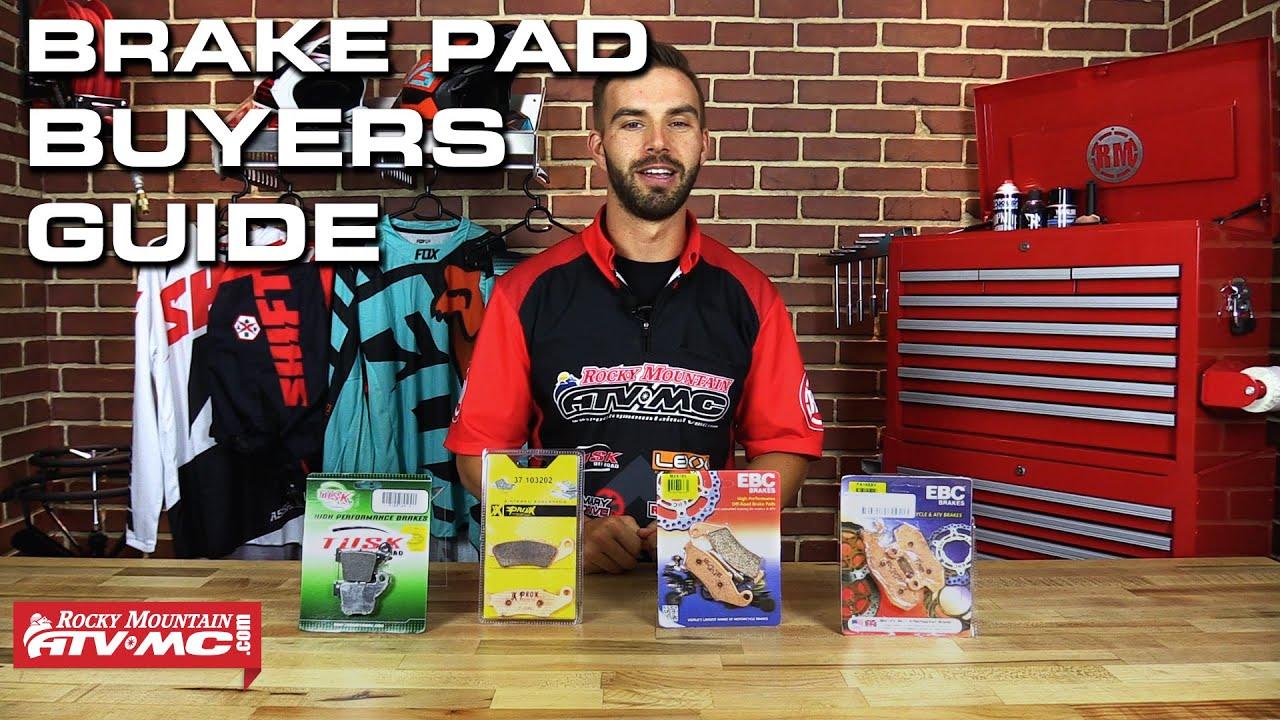 Red Brake Pads >> Best Motorcycle/Dirt Bike Brake Pads | Rocky Mountain ATV ...