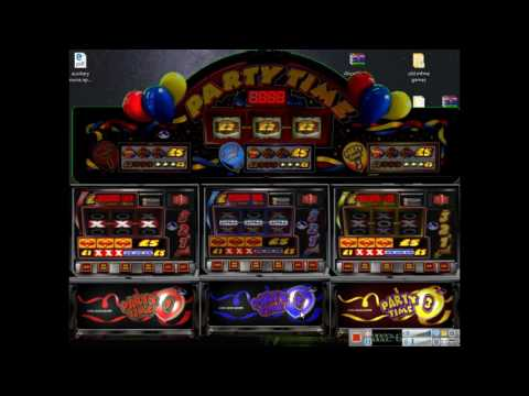 Astra Partytime £5 jackpot 25p play boards MFME V5