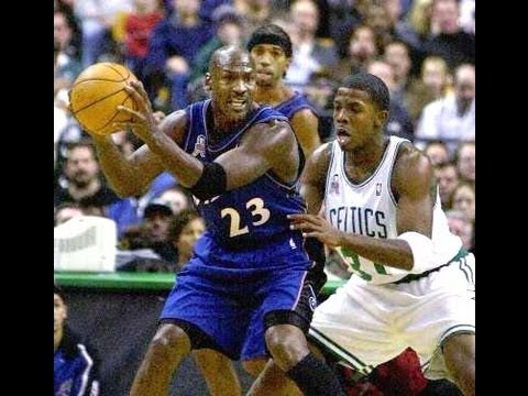 Joe Johnson 16 points vs Michael Jordan - Highlights 2001/2002 Rare game