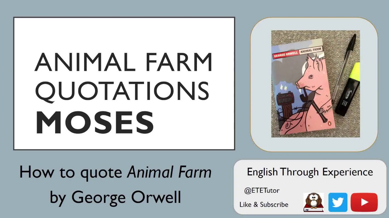 the theme of corruption in animal farm by george orwell Animal farm by george orwell home / power: leadership and corruption theme animal farm power: leadership and corruption quotes.