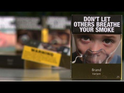 WHO hails new plain cigarette packaging