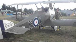Gambar cover Sopwith camel startup Omaka NZ, my best vid of this beast yet!!!