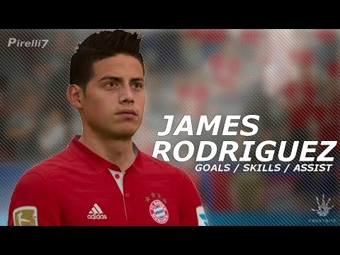 FIFA 17: James Rodriguez Welcome to Bayern Munich - Goals / Skills / Assists | 2017/2018 by Pirelli7