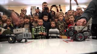Битва роботов-сумоистов прошла в Минске: репортаж Onliner