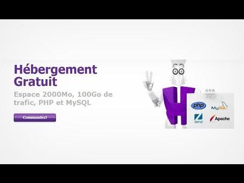 Hebergement Gratuit - Hostinger [video HD] Partie 1