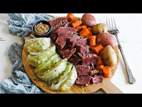 wine article Homemade Corned Beef And Cabbage Recipe  Cure  Cooked