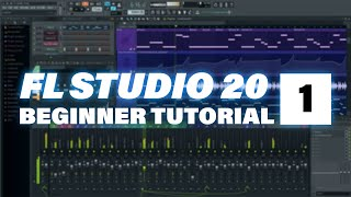 Fl Studio 20 Beginner Tutorial 1 - Anfänger Tutorial (German)