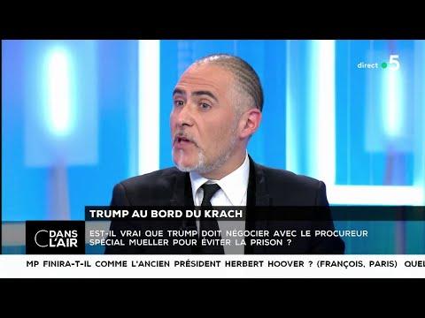Trump au bord du krach - Les questions SMS #cdanslair 27.12.2018