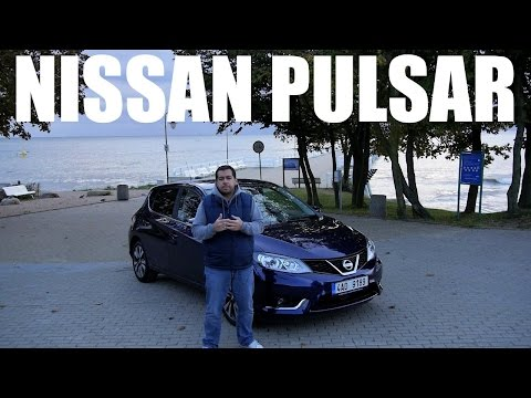 (PL) Nissan Pulsar - Test I Pierwsza Jazda Próbna