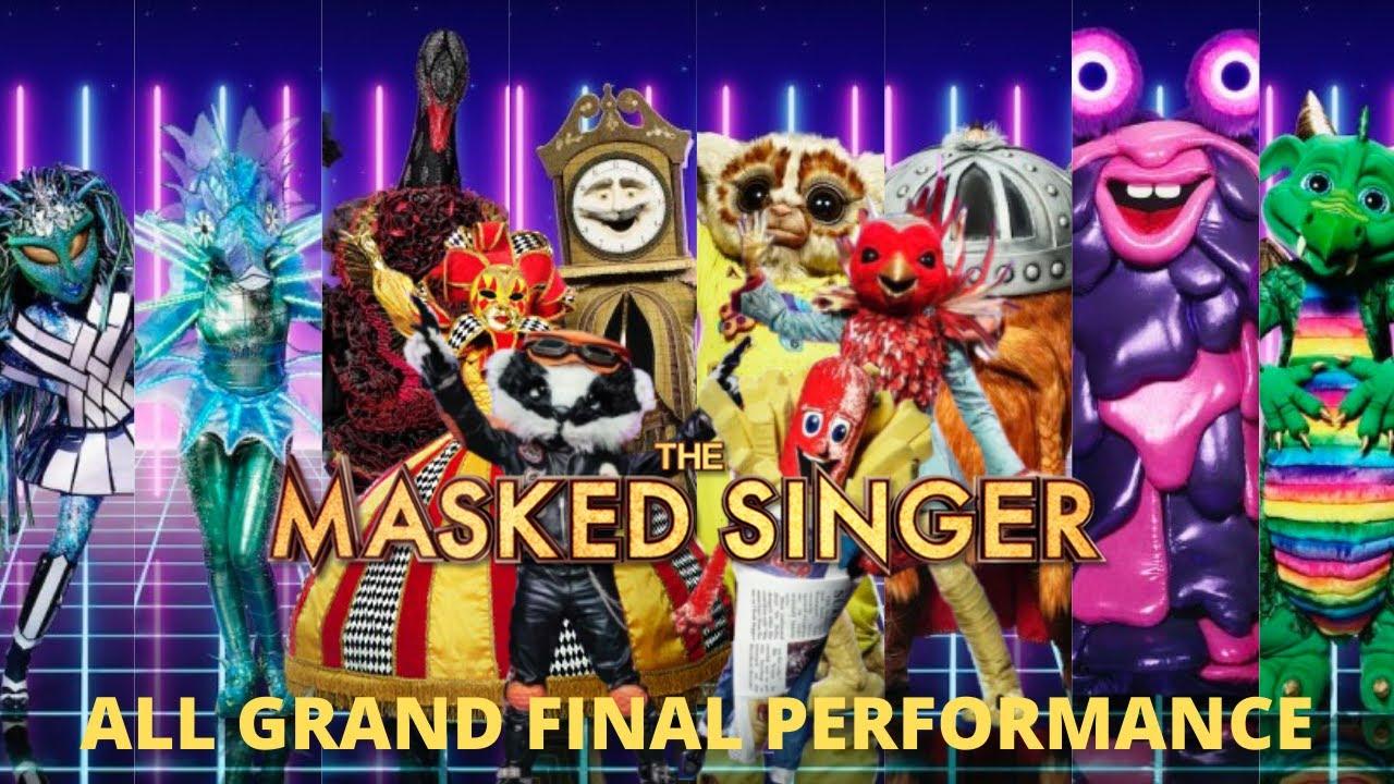 Download All Grand Final Performances!!   The Masked Singer UK Ep.8
