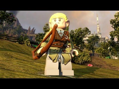 Lego Dimensions Legolas Open World Free Roam Character Showcase