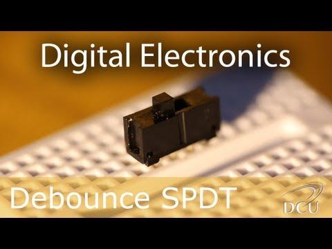 Digital Electronics: Debouncing a Slider Switch (SPDT)