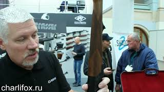 Охотничий карабин Strasser RS 14 с продольно-скользящим затвором на выставке Arms&Hunting 2017