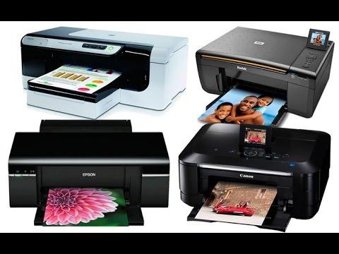 В двух словах - Лазерный или струйный принтер?