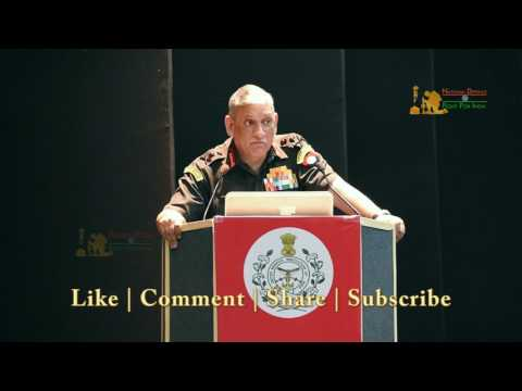 """Gen Bipin Rawat At USI: """"India To Release National Military Strategy Very Soon"""""""
