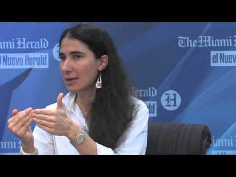 Yoani Sanchez meets with The Miami Herald Editorial Board (Part 2)