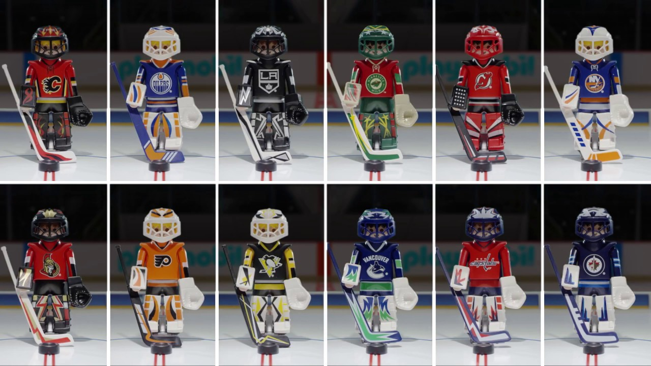 Game On with PLAYMOBIL NHL Hockey  English   Canada    YouTube