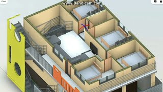 30X40 Duplex house plan || North face vastu || 2 cars parking || 4 Rooms 1Master BR