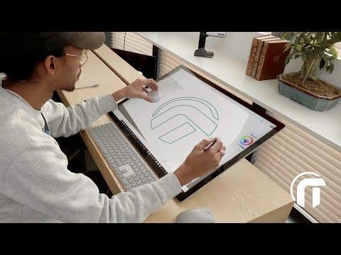 Visite d'une grande surface ! (découverte Surface Studio chez Microsoft France)