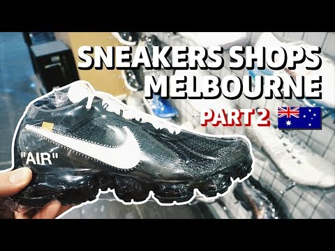 Sneaker Shops di Melbourne Part 2 Bahasa Indonesia