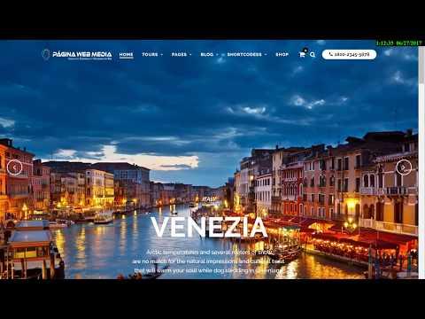 Diseño web para agencia de viajes