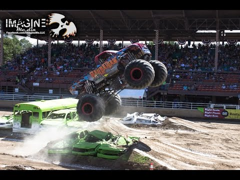 Monster Truck Freestyle | Colorado State Fair 2014