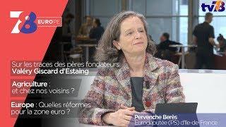 7/8 Europe – émission du 9 février 2018 avec Pervenche Berès, eurodéputée PS d'Île-de-France