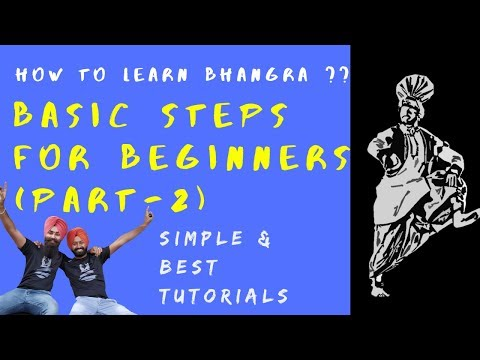 Bhangra Tutorial for Beginners || Part 2 || How to Learn Bhangra || Bhangra Planet Tutorials