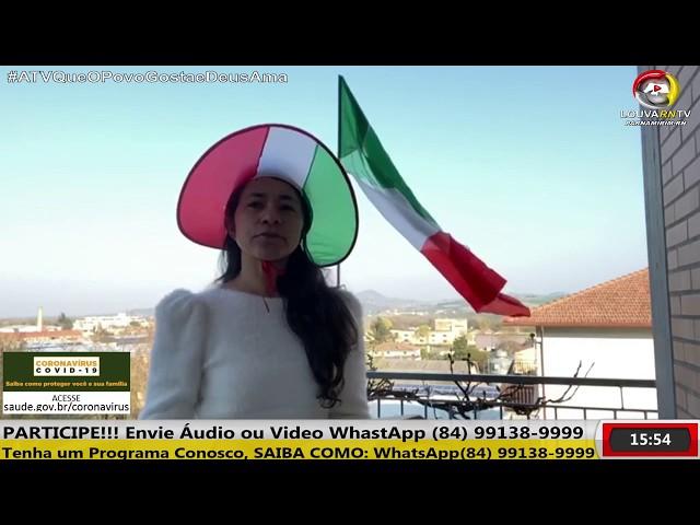 PLANTANDO A SEMENTE DA FÉ - ITÁLIA (18/03/2020)