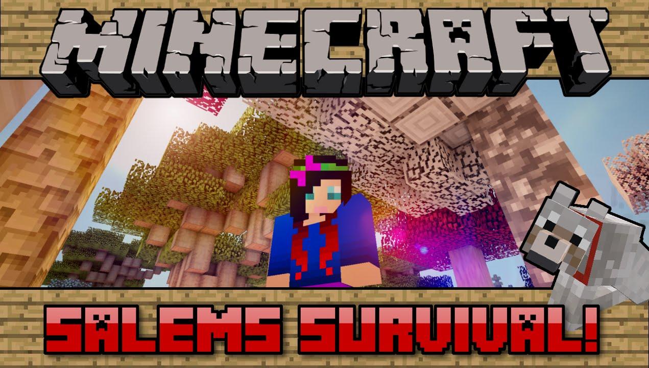 Squishy survival 9 -  102 Salems Survival Minecraft Pc