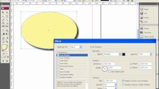 Эффекты в Adobe InDesign