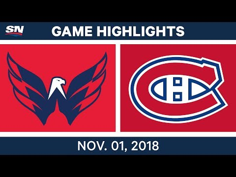 NHL Highlights | Capitals vs Canadiens - Nov. 1, 2018